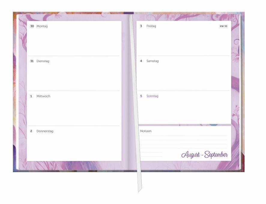 Jeremiah Ketner 17-Monats-Kalenderbuch A5  - 2022