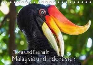 Flora und Fauna in Malaysia und Indonesien (Tischkalender 2021 D