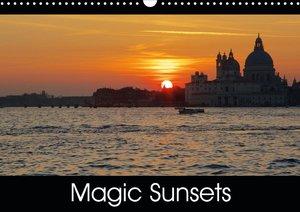 Magic Sunsets (Wall Calendar 2021 DIN A3 Landscape)