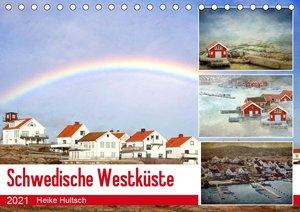 Schwedische Westküste (Tischkalender 2021 DIN A5 quer)