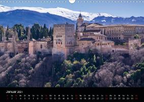 Andalusien (Wandkalender 2021 DIN A3 quer)