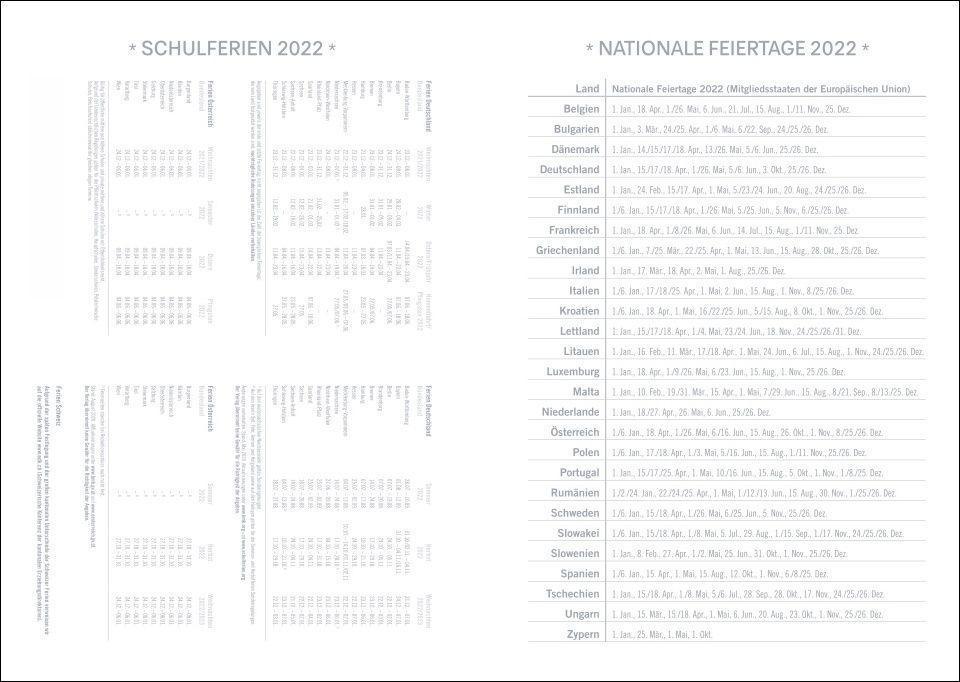 Stamp Art Kalenderbuch A5 Kalender 2022