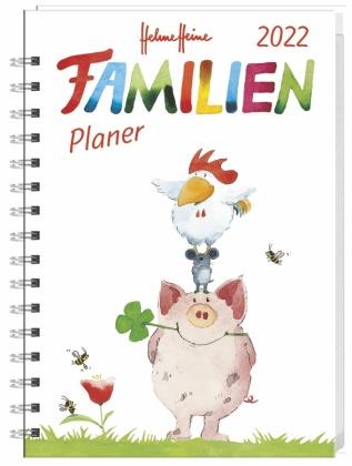Helme Heine Familienplaner Buch A5 Kalender 2022