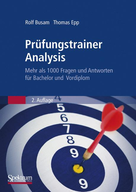 Prüfungstrainer Analysis