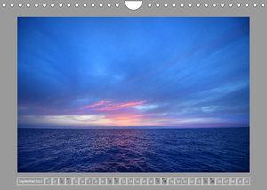 Nur Himmel und Meer (Wandkalender 2022 DIN A4 quer)