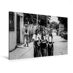 Premium Textil-Leinwand 120 cm x 80 cm quer Schulfrei