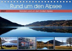 Rund um den Alpsee (Tischkalender 2021 DIN A5 quer)