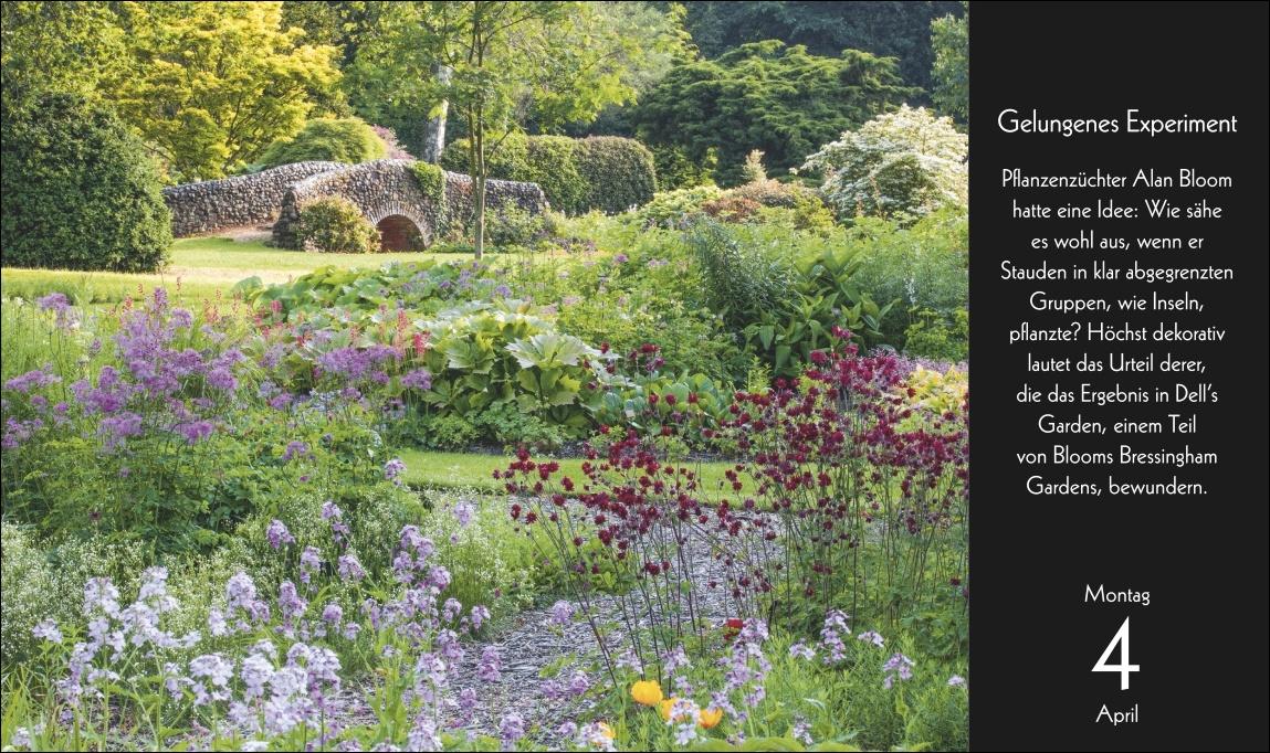Eine Reise durch die Welt der Gärten Kalender 2022