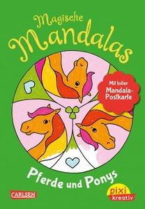 Pixi kreativ 122: VE5: Magische Mandalas: Pferde und Ponys