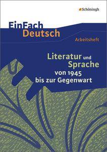EinFach Deutsch - Unterrichtsmodelle und Arbeitshefte