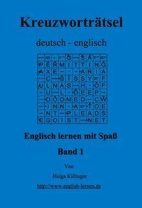 Englisch lernen mit Spaß. Kreuzworträtsel deutsch-englisch