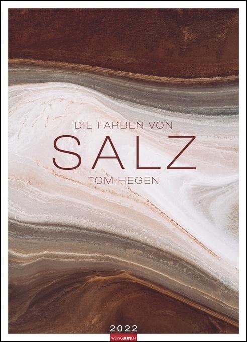Die Farben von Salz Kalender 2022