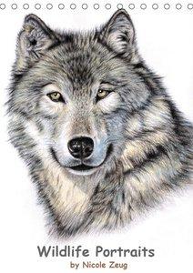 Wildlife Portraits (Tischkalender 2021 DIN A5 hoch)