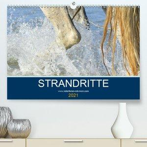 STRANDRITTE (Premium, hochwertiger DIN A2 Wandkalender 2021, Kun