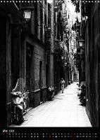 In den Straßen und Gassen Barcelonas (Wandkalender 2021 DIN A3 h