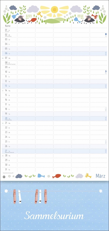 Familienplaner plus Clips Kalender 2022