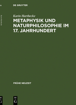Metaphysik und Naturphilosophie im 17. Jahrhundert
