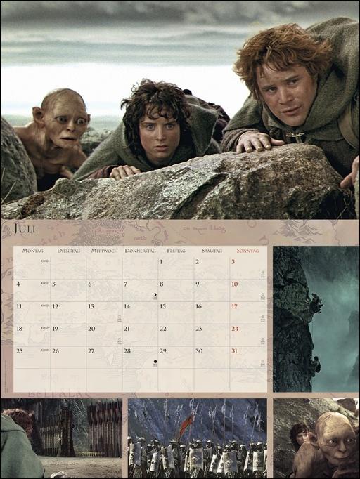 Der Herr der Ringe Broschur XL Kalender 2022