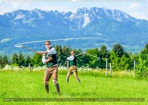 Heimat und Tradition - vom nördlichen Alpenraum bis München (Wandkalender 2022 DIN A2 quer)