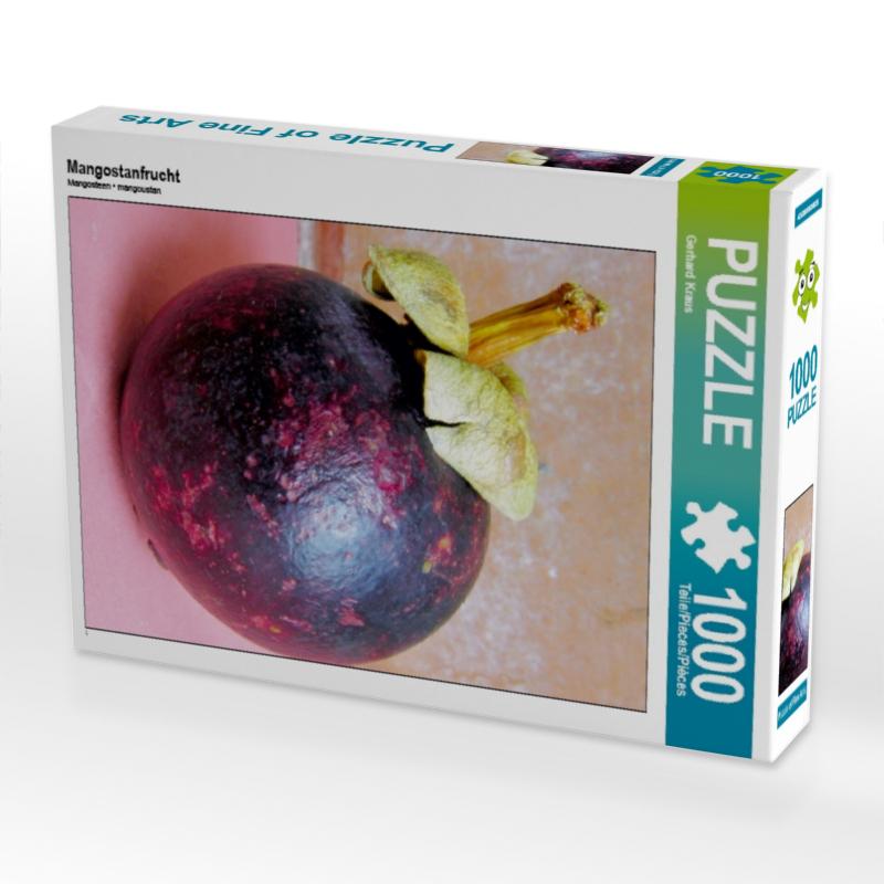 Mangostanfrucht 1000 Teile Puzzle hoch