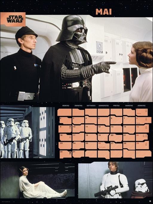 Star Wars Broschur XL Kalender 2022
