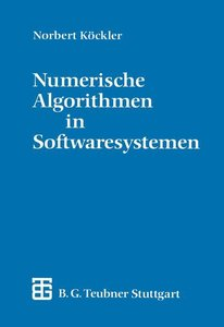 Numerische Algorithmen in Softwaresystemen