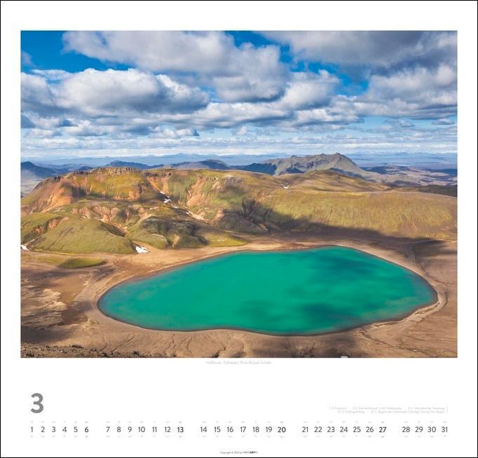 Island Kalender 2022