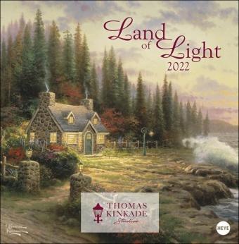 Thomas Kinkade: Land of Light Broschurkalender 2022