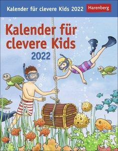 Kalender für clevere Kids Kalender 2022