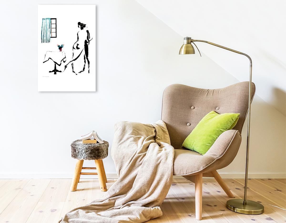 Premium Textil-Leinwand 50 cm x 75 cm hoch ZUGREIFEN