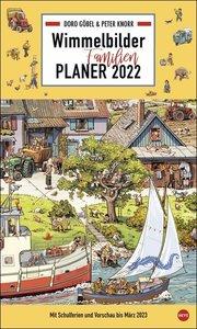 Göbel & Knorr Wimmelbilder Familienplaner XL Kalender 2022