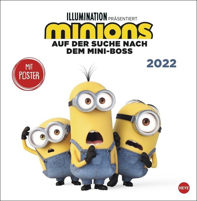 Minions Broschurkalender 2022