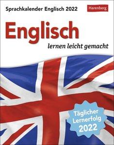 Sprachkalender Englisch Kalender 2022