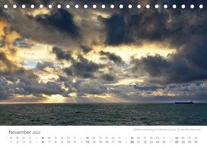 Faszination Schifffahrt - Meere und Hafenstädte (Tischkalender 2022 DIN A5 quer)