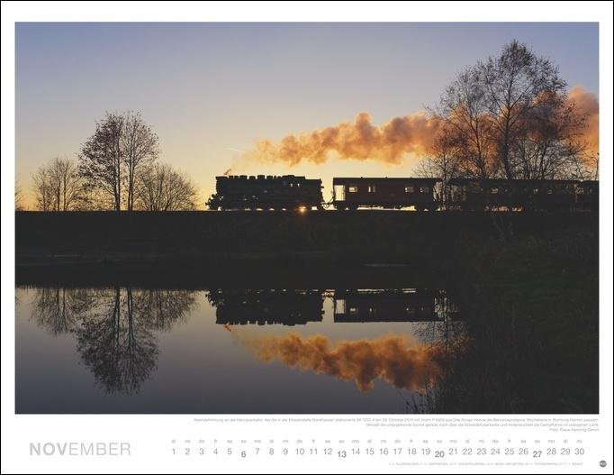 Eisenbahn Romantik Kalender 2022