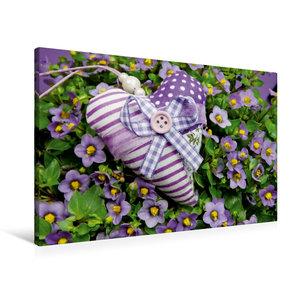 Premium Textil-Leinwand 90 cm x 60 cm quer Ein Motiv aus dem Kalender Herzallerliebst