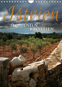 Istrien ?Slowenien. Kroatien (Wandkalender 2022 DIN A4 hoch)