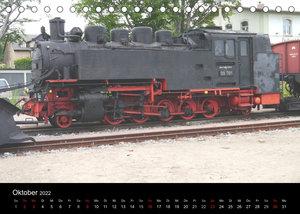 Sächsische Dampfeisenbahnen 2022 (Tischkalender 2022 DIN A5 quer)