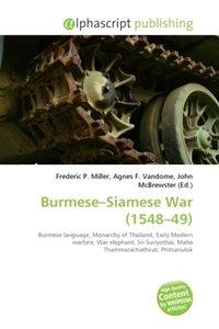Burmese Siamese War (1548 49)