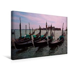 Premium Textil-Leinwand 45 cm x 30 cm quer Venedig Venice