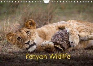 Kenyan Wildlife (Wall Calendar 2022 DIN A4 Landscape)