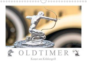 Oldtimer - Kunst am Kühlergrill (Wandkalender 2021 DIN A4 quer)