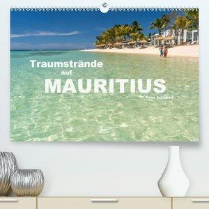 Traumstr?nde auf Mauritius (Premium, hochwertiger DIN A2 Wandkalender 2021, Kunstdruck in Hochglanz)