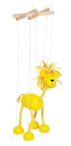 Goki 51868 - Marionette Löwe