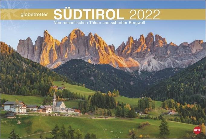 Südtirol Globetrotter Kalender 2022