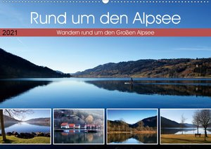 Rund um den Alpsee (Wandkalender 2021 DIN A2 quer)