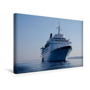 Premium Textil-Leinwand 45 cm x 30 cm quer Kreuzfahrtschiff Albatros Passagiere 830 L?nge 205,46 m