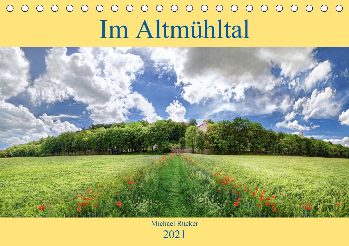 Im Altmühltal (Tischkalender 2021 DIN A5 quer)
