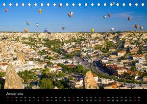Türkei - fantastisches Kappadokien (Tischkalender 2022 DIN A5 quer)