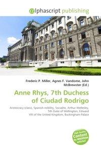 Anne Rhys, 7th Duchess of Ciudad Rodrigo